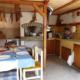 Летняя кухня в сарае