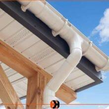 Как правильно сделать слив с крыши